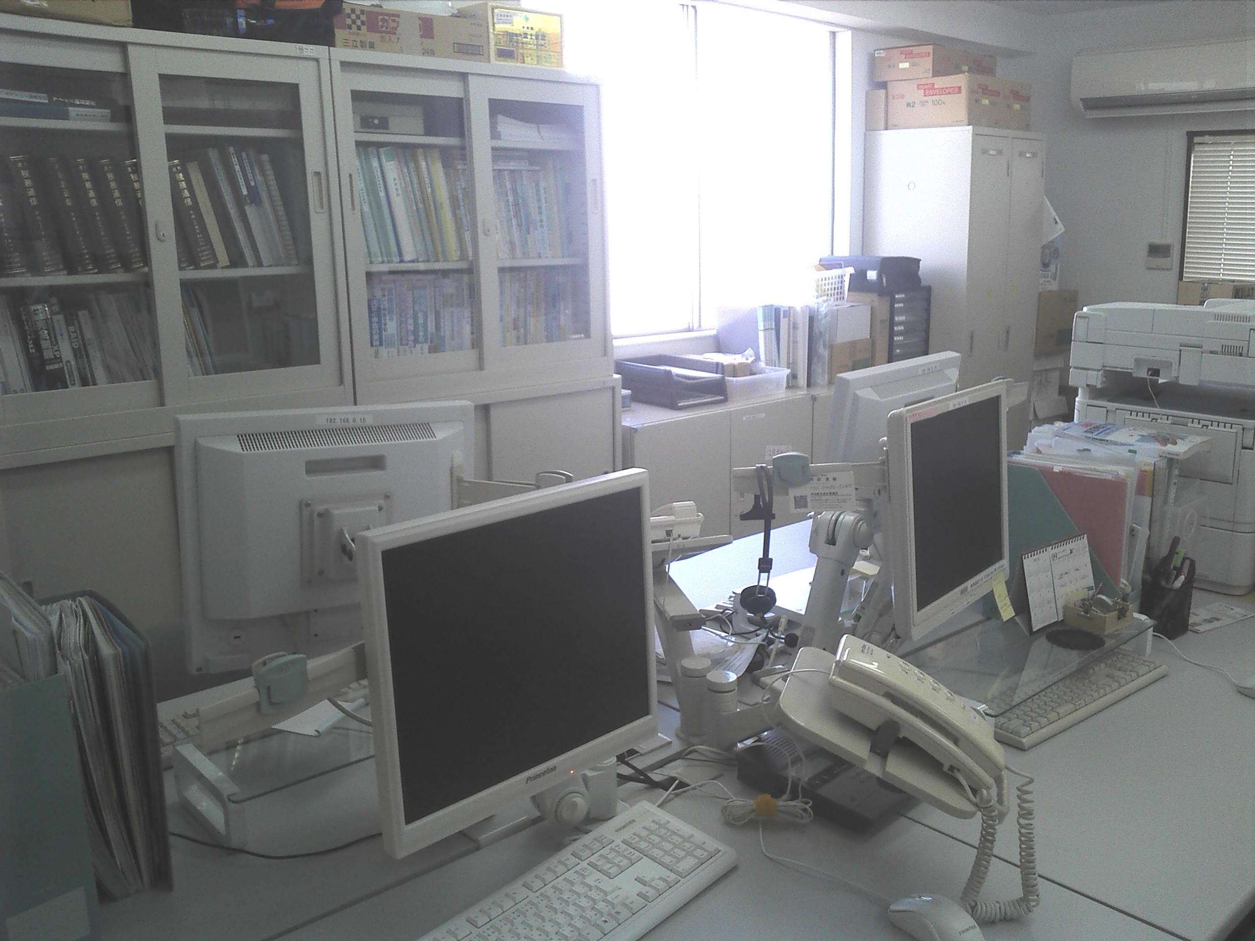 事務所内風景